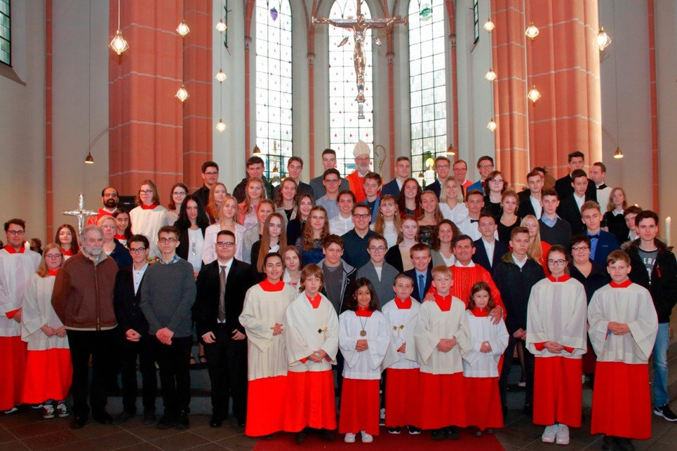 Firmung in Herz Jesu Euskirchen (c) D. Rose